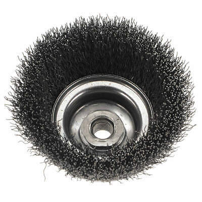 WEILER Crimped Wire Cup Brush,5 In.,0.020 In., 93400