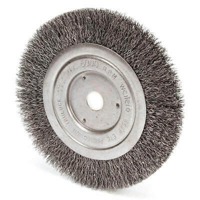 WEILER 93395 Crimped Wire Wheel Brush,Arbor Hole
