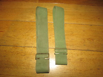 Pair WW1 British P08 Web Straps