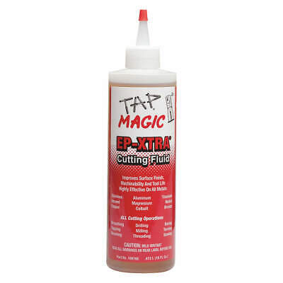 TAP MAGIC Cutting Oil,16 oz,Squeeze Bottle, 10016E, Yellow