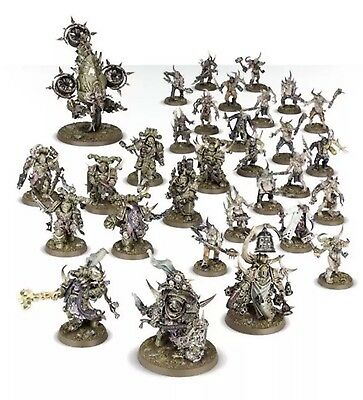 Dark Imperium Starter Box Nurgle Death Guard models. Brand New On Sprue