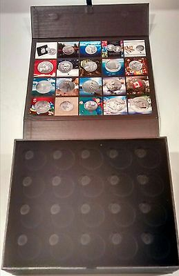 2011-2015 Canada $20 for $20 & $25 for $25 Face Value Coins Collector Case