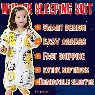 Big box C3.5 Tog Baby winter sleeping bag-high qualityPure cotton-sleeping suite