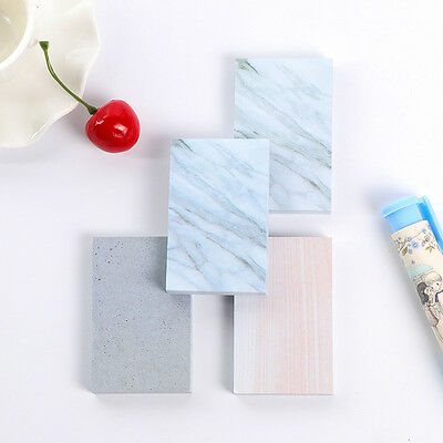 Novelty Rectangle Stones Sticky Notes Memo Pads Planner DIY Stickers Stationery