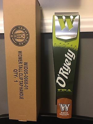 Widmer Brothers Brewing O'Ryely Beer Tall Tap Handle BRAND NEW In BOX !!!