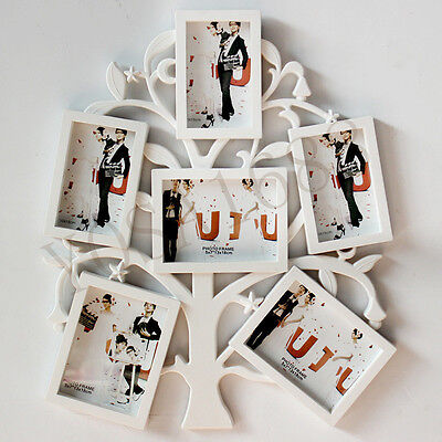 Tree Style 6 Boxes Combination Photo Frame Wall Hanging Picture Frames Multi-fra