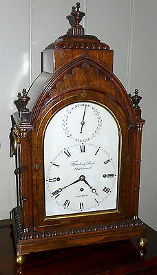 Impressive 19th Cent Thwaites & Reed Musical Bracket Clock