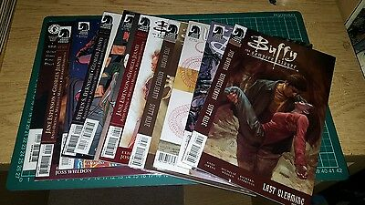 buffy the vampire slayer comic job lot bundle willow angel