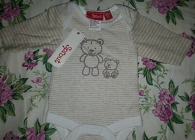 ** SPROUT Baby one-piece Size 0000 - NEW **