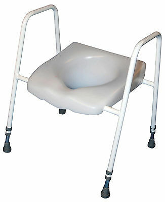 Aidapt President Raised Toilet Seat and Frame VR219