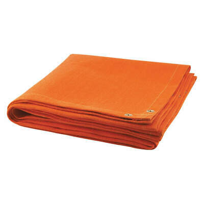 STEINER Welding Blanket,6 ft. W,4 ft.,Orange, 369-4X6