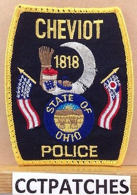 Cheviot, Ohio Police Shoulder Patch Oh
