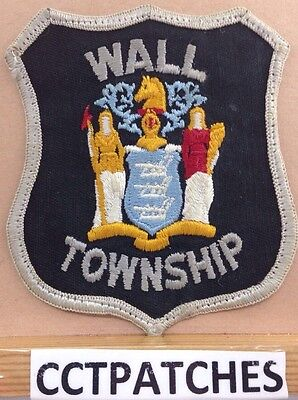 Wall Township, New Jersey Police Shoulder Patch Ny