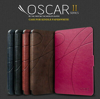 ROC® Smart Flip Magnetic Slim Leather Case Cover for New Kindle Paperwhite 2018