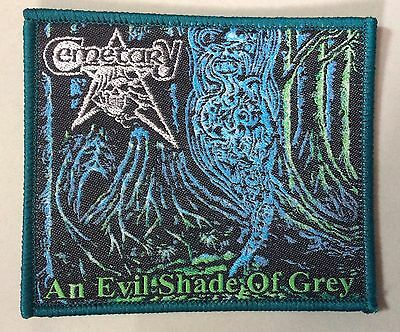 CEMETARY WOVEN PATCH death entombed dismember carnage Therion bathory morgoth