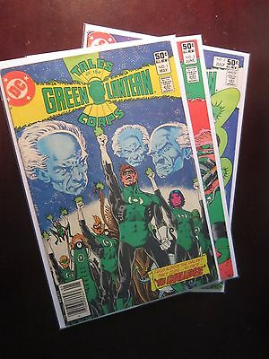 Tales of the Green Lantern Corps (1981) #1-3 Set - 8.0 VF - 1981