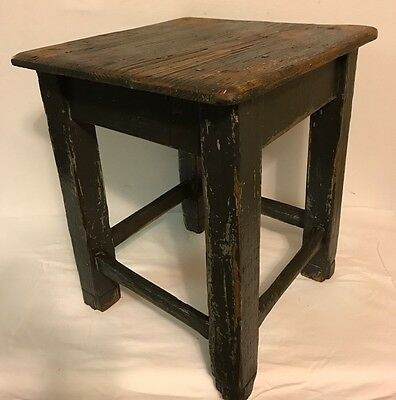 Antique Czech~ Republic Shabby Chic Side/end Table ~ Bench