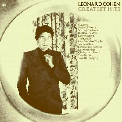LEONARD COHEN ~ GREATEST HITS ~ 180gsm AUDIOPHILE VINYL LP ~ *NEW AND SEALED*