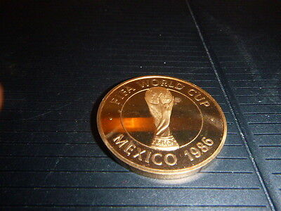 The Football Association  Offical Mexico World Cup 1986 Medal