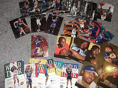 Lot Of 120+ Skybox Dominion Basketball Cards - Inserts Rookies etc - Kobe Bryant