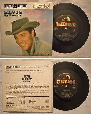 "7"" 45 Ep - Elvis Presley - Flaming Star - Anno 1960 - Lpc-128 - Rarita'"