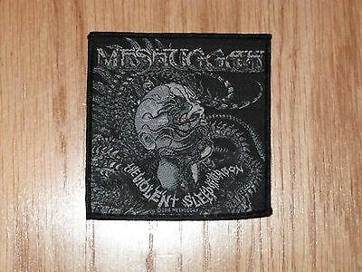 Meshuggah - The Violent Sleep Reason (New) Sew On W-Patch Official Band Merch
