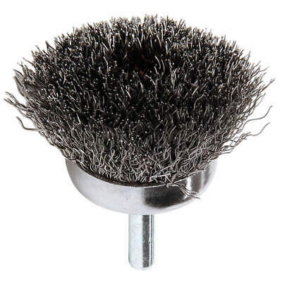 WEILER Crimped Wire Cup Brush,Stem,1-3/4 In., 90116