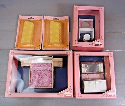 Box 10 * Lundby Dollhouse Lot of Furniture Accessories Assortment vintage Doll
