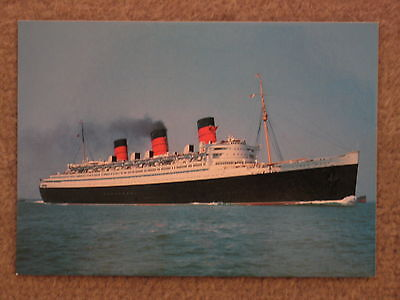Cunard Queen Mary At Sea