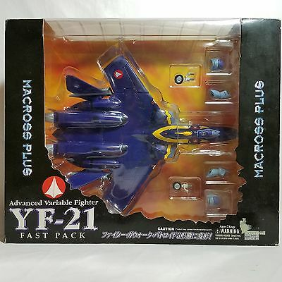 BRAND NEW UNOPENED Macross Plus YF-21 with Fast Pack Yamato version 2 MISB