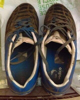 Sondico Rugby Boots - Blue & Black - Size 7