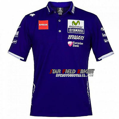 Fashion Leisure Sports Golf Motorcycle POLO Cotton T-shirt for M1 Rossi VR46