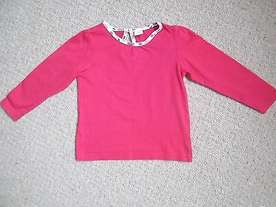 Infants Baby Disney  Long Sleeved  Top , Rasberry Colour ,18 - 24 Months