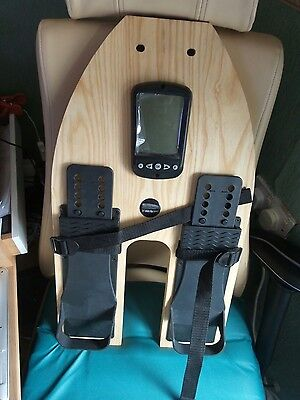 WaterRower Complete FootBoard with Monitor and Footboard Emblem