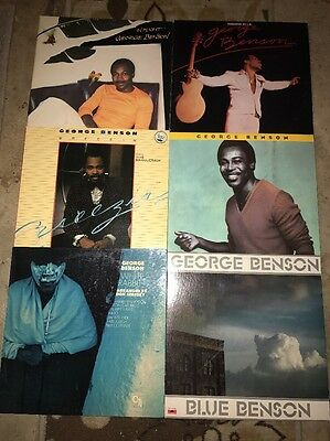 George Benson Lp Lot Of 6 Records Jazz R&B
