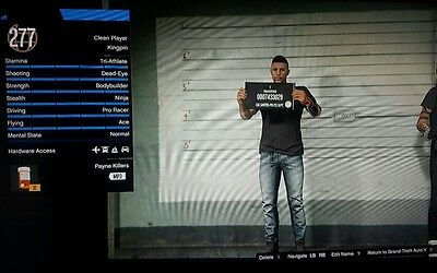 Gta Online Xbox One Modded Account (Rare) **last One** 5 Month Old 330 Million