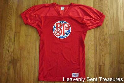BOSTON PIZZA OPERATIONS Rare Autographed Signed Jersey Mens Server Shirt M Promo