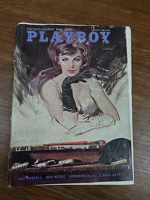 Revue PLAYBOY MAGAZINE Vol 9 No 3 March 1962   INCOMPLETE See details