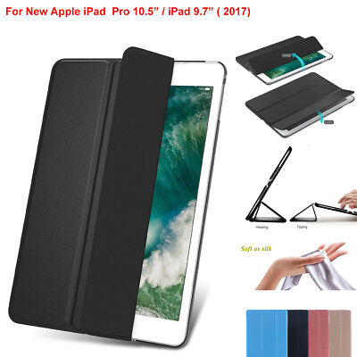 """f Apple iPad Pro 10.5"""" (2017) Ultra Slim Magnetic Smart Cover Leather Stand Case"""