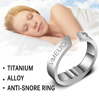 Anti Snore Ring Stop Snoring Acupressure Practical Sleep Aid Device Five Sizes