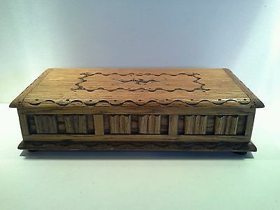 Vintage 1950s Tallent of Bond Street Wooden Lullaby Music Box