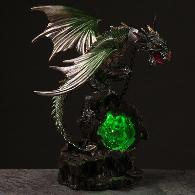 Large Illuminated Dragon LED Figurine Ornament Figure Game of Thrones Gift NEW A