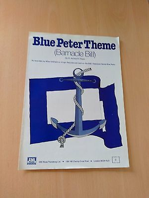 Blue Peter Theme (Barnacle Bill) Music Sheet - Mike Oldfield