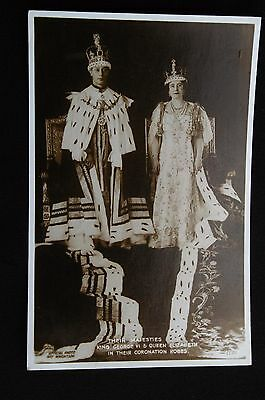 CPA Royaume-Uni - King Georges VI & Queen Elizabeth Coronation/Couronnement 1937