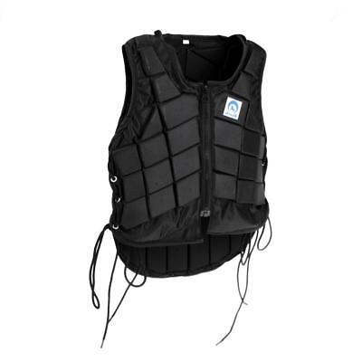 Pro Children Horse Riding Equestrian Vest Safe Body Protector Protection CL