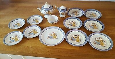 Porcelain Royal princess part tea set