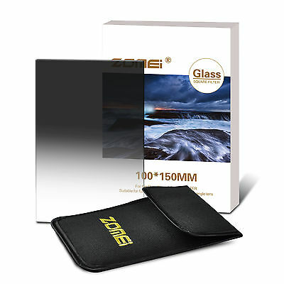 ZOMEI 150x100mm Glass Square Soft Graduated ND248 Filters for Cokin Z