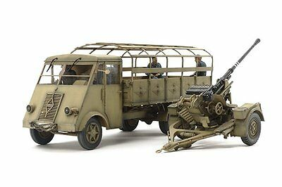 Tamiya 32410 1/35 German 3.5ton Truck AHN - w/3.7cm Flak 37 AA Gun Model Kit