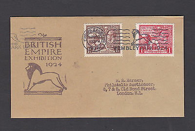 1924 Wembley: Empire Exhibition / Wembley Park 1924: FDC: Scarce: FORGERY