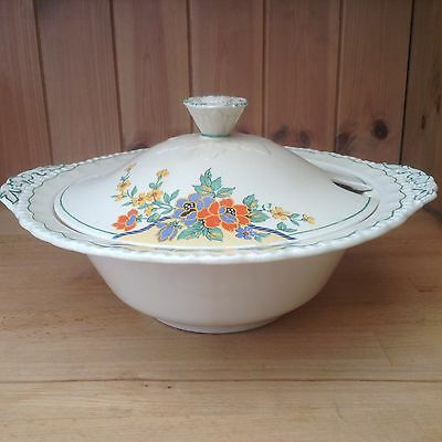 Vintage Grindley Lidded Serving Dish/Tureen